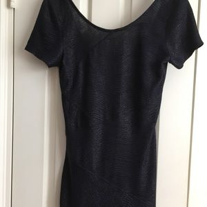 Free People sexy navy blue cocktail dress S 6 new